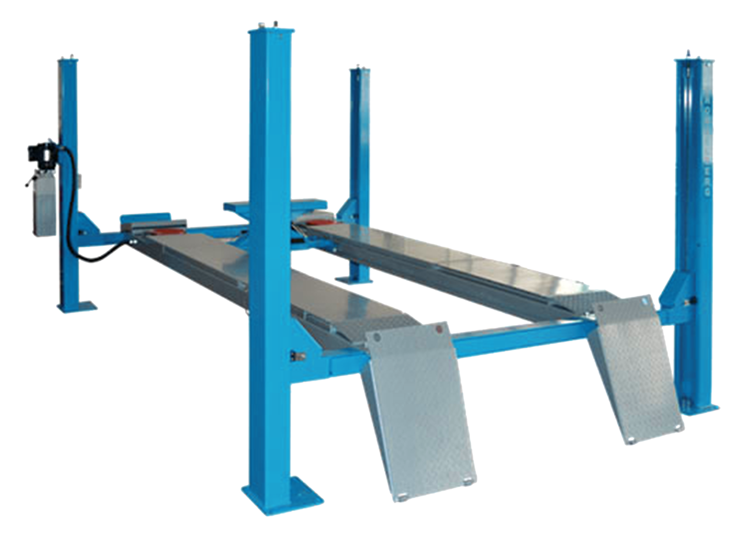 TST440A – 4 TON FOUR POST LIFT FOR WHEEL ALIGNMENT