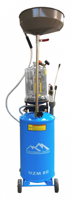 UZM80 – MOBILE WASTE OIL EXTRACTOR WITH INSPECTION CHAMBER