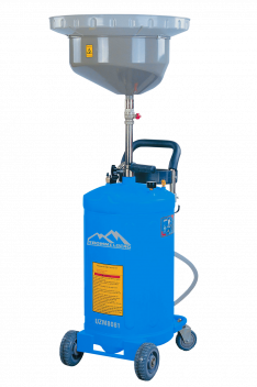 UZM8081 – MOBILE WASTE OIL DRAINER W/O INSPECTION CHAMBER
