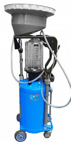 UZM8097 – MOBILE WASTE OIL EXTRACTOR WITH INSPECTION CHAMBER